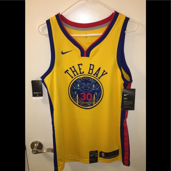 reputable site 1ba51 b92d8 Nike Stephen Curry jersey (BRAND NEW) FLASH SALE NWT